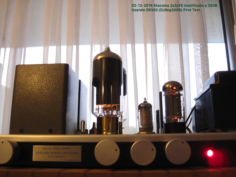 Atacama ER300B Single Ended Amplifier