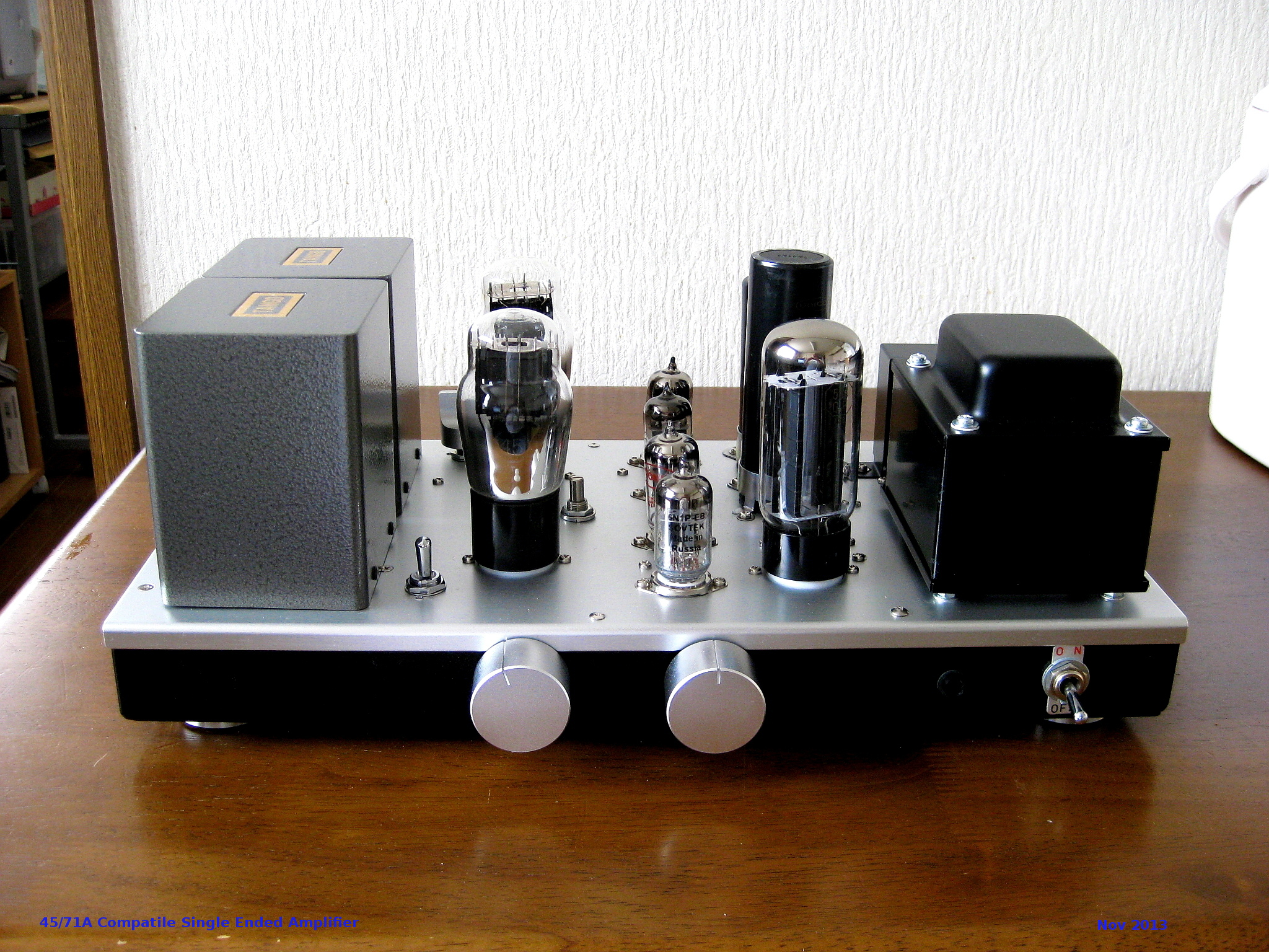 45/71A Single Ended Amplifier 2013