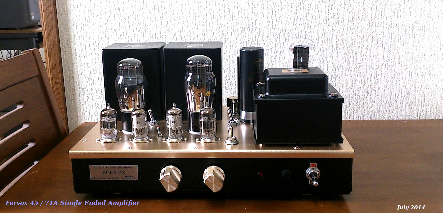 Hashimoto H20-7U 45 Single Ended Amplifier
