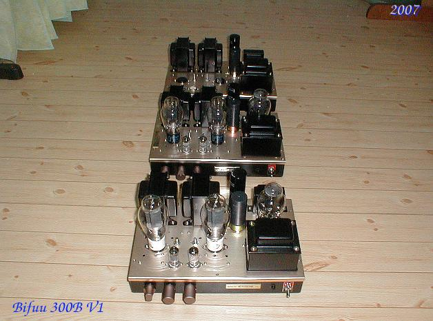 300B Single Ended Amplifier 2007