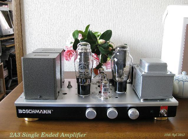 PSVANE 2A3 single ended amplifier 2012