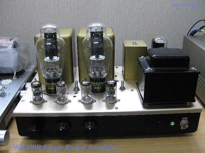 WE300B and Amplifier