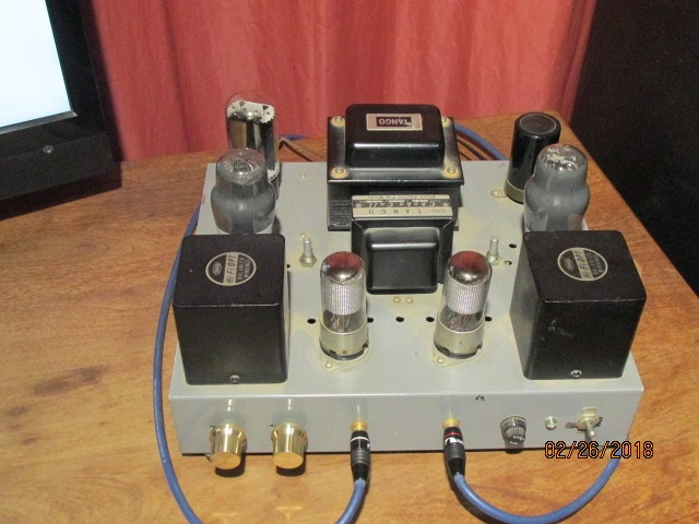 PEN 45 Single Ended Amplifier