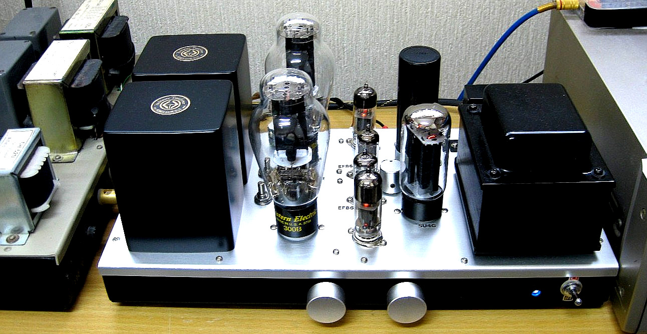 WE300B Single Ended Amplifier 2016