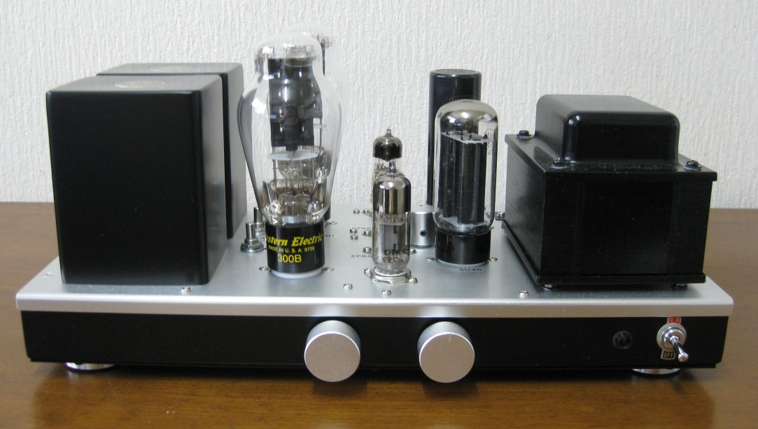 WE 300B with 300B Single Ended amplifier 2016
