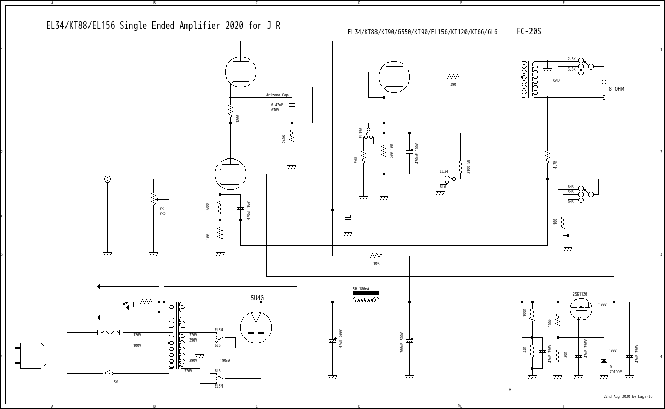 universal single ended amplifier