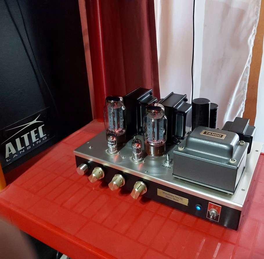 EL156 single ended amplifier in chile