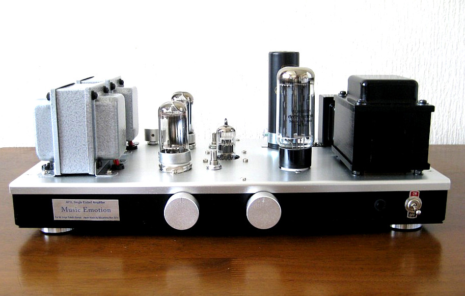 4P1L single ended amplifier Nov 2014