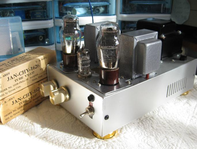 1626 Single Ended Amplifier DIY