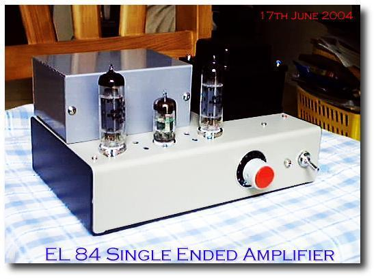 mini EL84 Amplifier