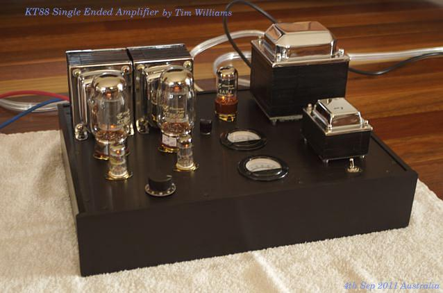 KT88 SE first Amplifier