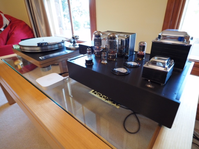 KT 88 Single Ended Amplifier and Turn Table 2016
