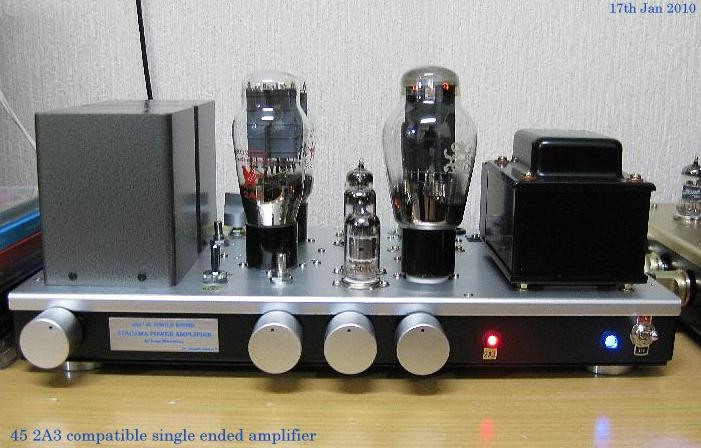 2A3 45 compatible single ended amplifier