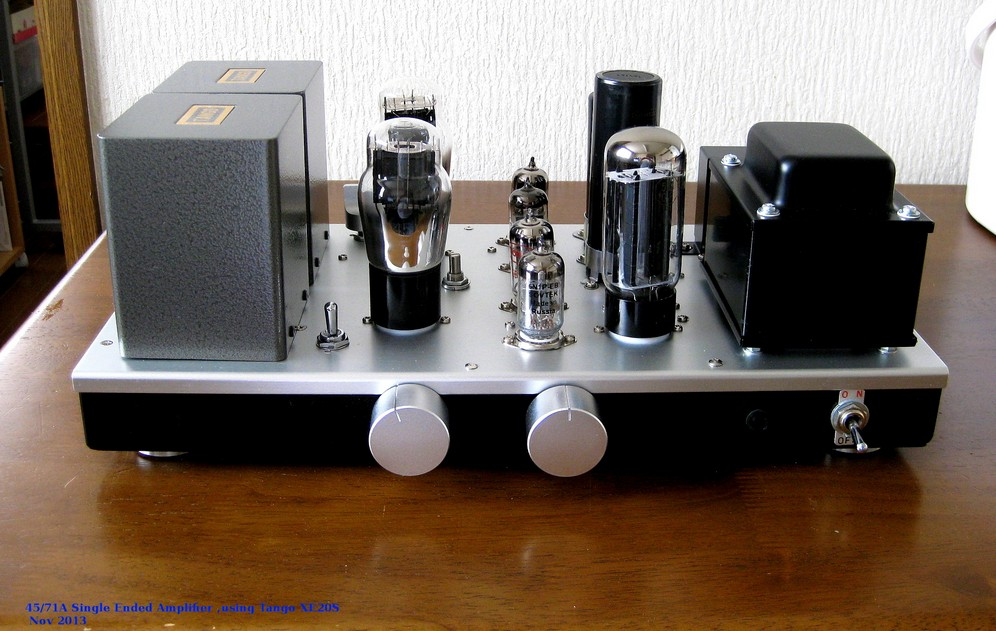 45/71A Single Ended Amplifier on 2013