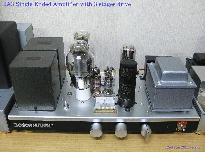 XE20S 2A3 single ended Amplifier