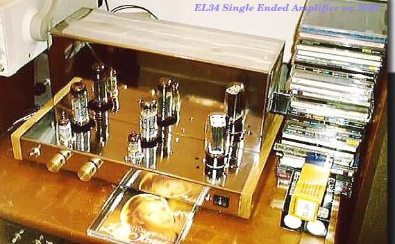 EL34 Single Ended Amplifier on 2002
